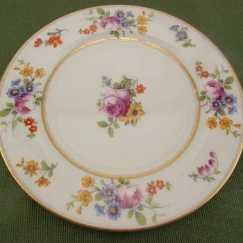 Coxon Belleek Plate - Unknown Pattern - China and Dinnerware