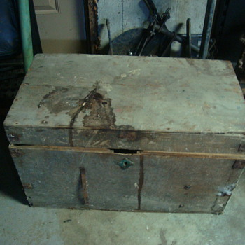 old tool boxes  - Tools and Hardware