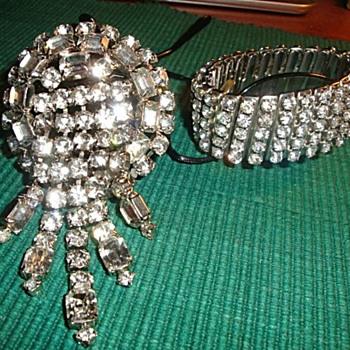 My Mother's Vintage Rhinestone Jewelry - Costume Jewelry
