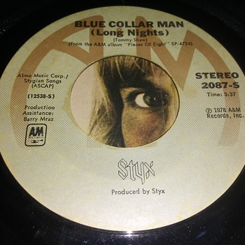 Styx....On 45 RPM Vinyl - Records