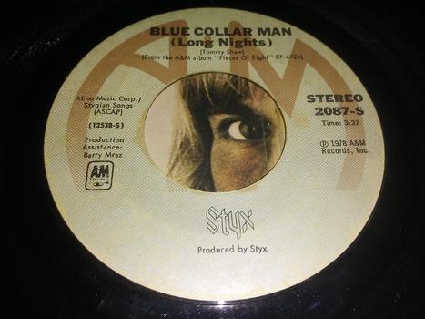 styx on 45 rpm vinyl collectors weekly
