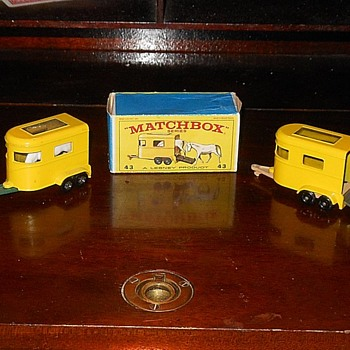 Matchbox #43 Pony Trailer 1967 - Model Cars