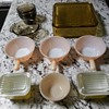 FIRE KING AND PYREX OVENWARE