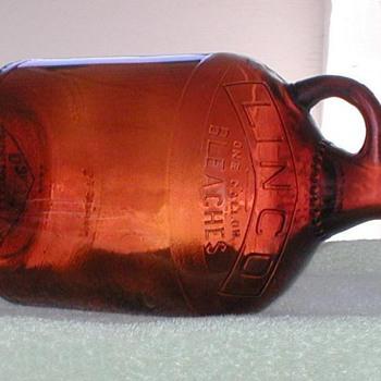 1958 - LINCO Bleach Bottle - Bottles