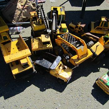 Tonka Trucks at Alameda - Model Cars