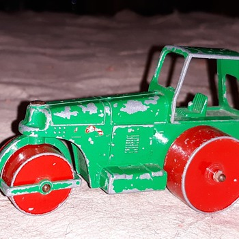Heavy Metal Matchbox Monday Matchbox King Size K-9 Aveling Barford Road Roller 1962-1966 - Model Cars