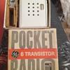 General Electric 6 Transistor Pocket Radio