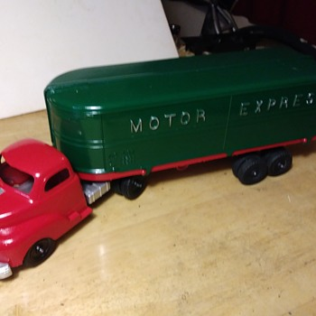 Hubley Motor Express  - Toys