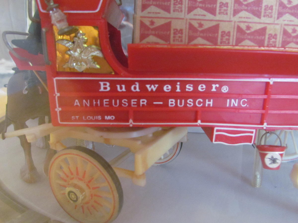1960's Budweiser Original Clydesdales Carousel Light