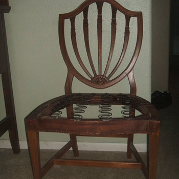 IS THIS A SAMUAL MCINTIRE CHAIR ? - Furniture