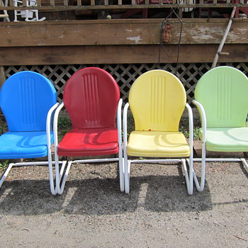 Vintage Patio Chairs - Furniture