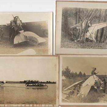 Postcards 1917 Flight Aeroplane Canada - Postcards