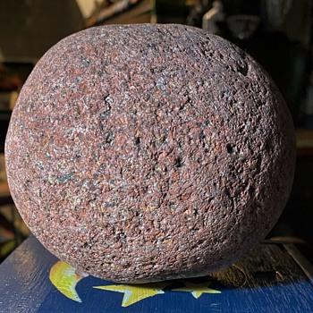 Mystery Pink Granite Sphere - Gemstones