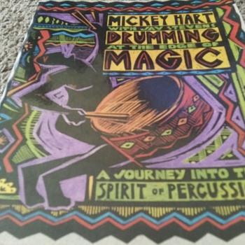 GRATEFUL DEAD PERCUSSIONIST MICKEY HART - Books