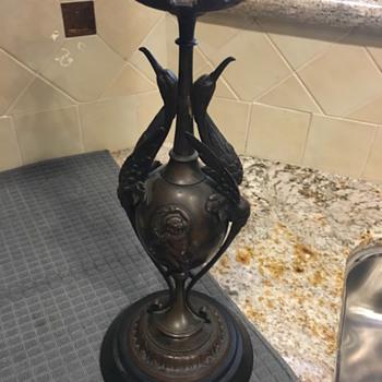 Bronze Candlestick Bronze - Lamps