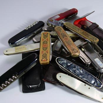 vintage solingen pocket knifes - Tools and Hardware