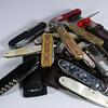 vintage solingen pocket knifes