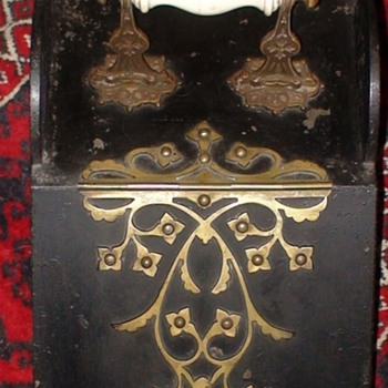 Antique Victorian Coal Scuttle With Shovel - Tools and Hardware