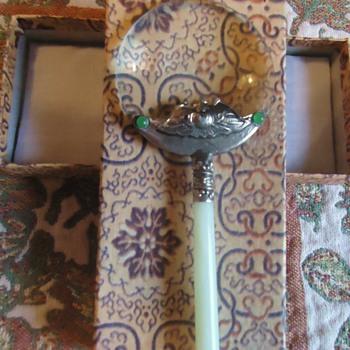 Magnifying Glass! Ebay said Tibt, Jade!?  $6.88 free shipping!