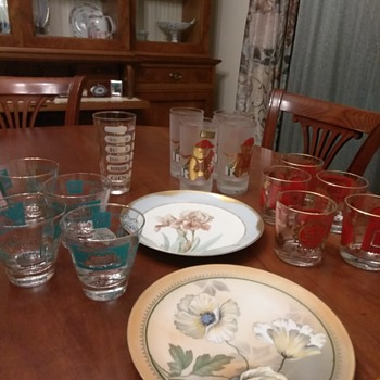Yesterday finds at thrift stores - China and Dinnerware