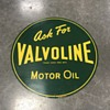 Valvoline motor oil sign 1952 NOS