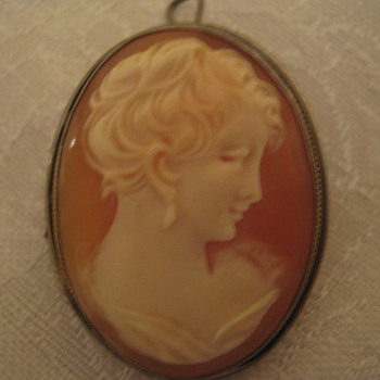 Old Cameo Brooch/Pin/Pendant - Fine Jewelry