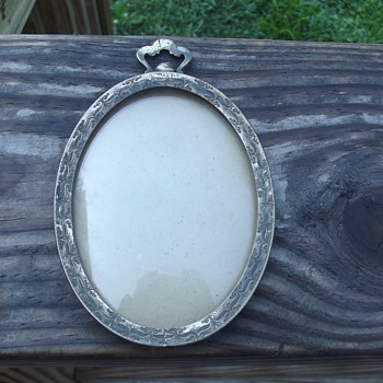 Antique Picture Frame? - Silver