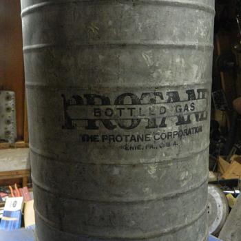 early propane cylinder - Bottles