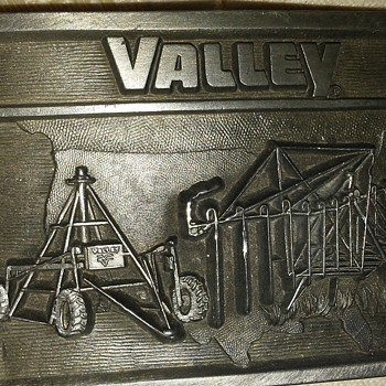 Limited edition VALLEY belt buckle Excellent condition