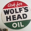 Wolfs Head sign I just acquired...