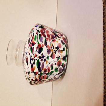 Interesting glass vase - Art Glass