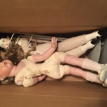 Dolls found in Grandparents attic