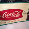 1958 Coca-Cola Metal Sign