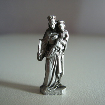 Germany miniature of Madonna with Child. 70'