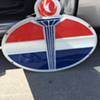 1960's Standard Oil Oval Torch Plastic Sign