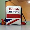 British airways travel bag - Mint.