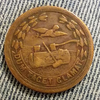 Woodsmen of the World penny token - US Coins