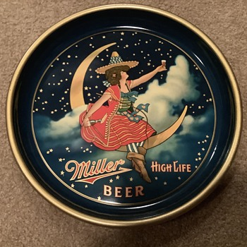 Miller Pre Pro High Life Beer Tray - Breweriana