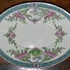 Minton/Birks oval plate