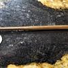 Tiny brass ball peen hammer
