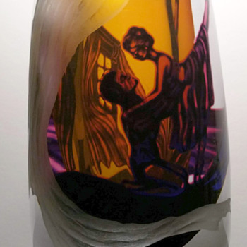 Another unique Graal - Art Glass