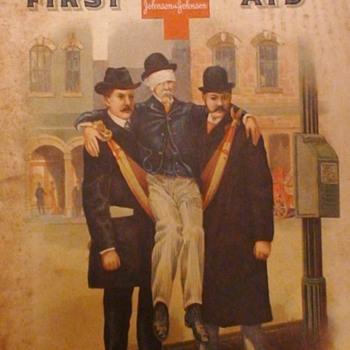 """Hand Book Of First Aid"" Johnson & Johnson 1903 Belladonna Plasters Anyone?"
