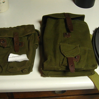 More military pouches/cases   - Military and Wartime