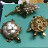 3 brooches