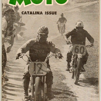 "1952 - ""MOTO"" Motorcycle Magazine (Second Issue) - Paper"