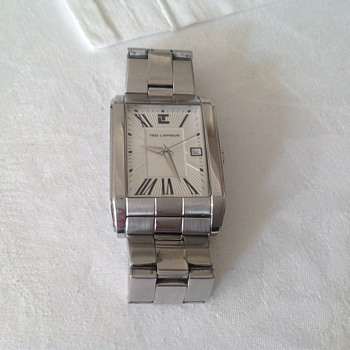 90's Ted Lapidus wristwatch.