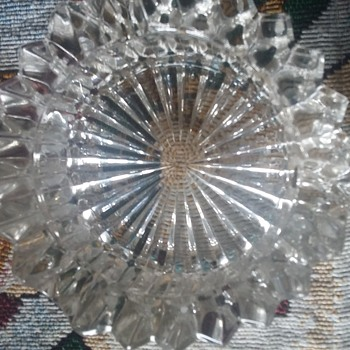 crystal ashtray waterford? gorham? - Tobacciana
