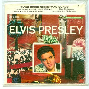 Elvis sings Christmas songs STILL SEALED