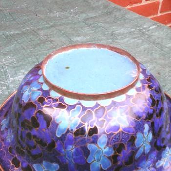 My cloisonne bowl - Asian