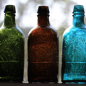 ::::Saratoga Spring Water Bottles:::: - Bottles